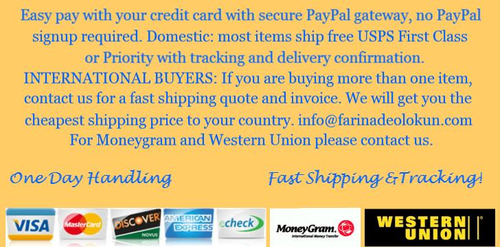 PayPal Visa MasterCard Discover American Express E-Check Moneygram Western Union Contact Us