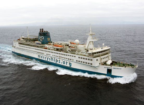 Africa Mercy Hospital Ship Worthy Charity