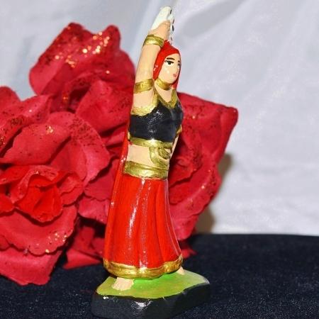 Pomba Gira Cartomante Macumba Statue