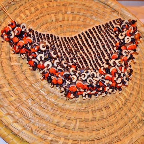 Brazil Caboclo da Mata Maue Tribe Woven Palm Fiber Loin Covering
