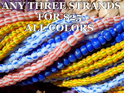 Choose 3 Strands Any Color 3-$25.00