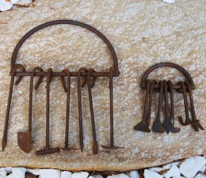 Orisa Ogun Iron Shrine Tools Macumba Quimbanda Ferramentas Ogum