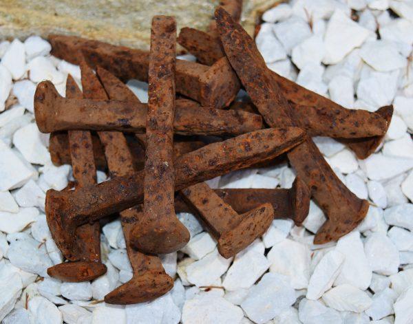Iron spikes nails of Ogun Esu