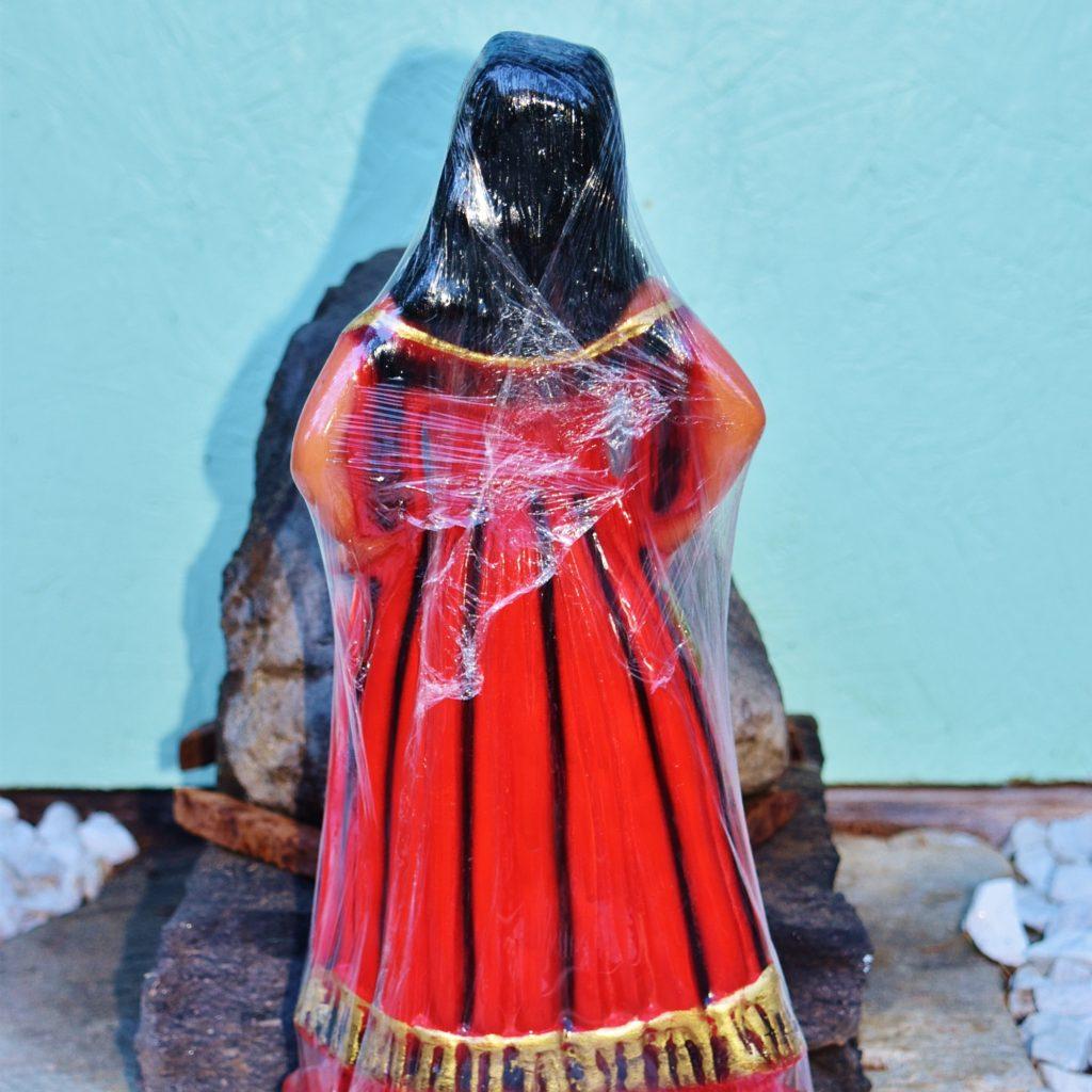 Pomba Gira Cigana Cartomante Statue