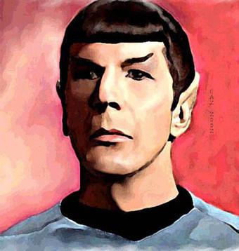 Spock Klingon Mind Meld