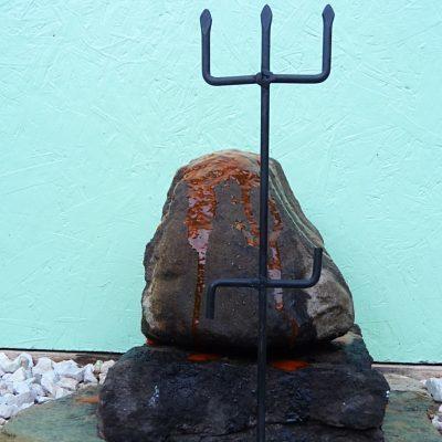 Iron Trident Exu Tranca Ruas, Exu das Encruzilhadas, Pomba Gira, Quimbanda Macumba Iron Ferragem Ferramenta 3 in Stock